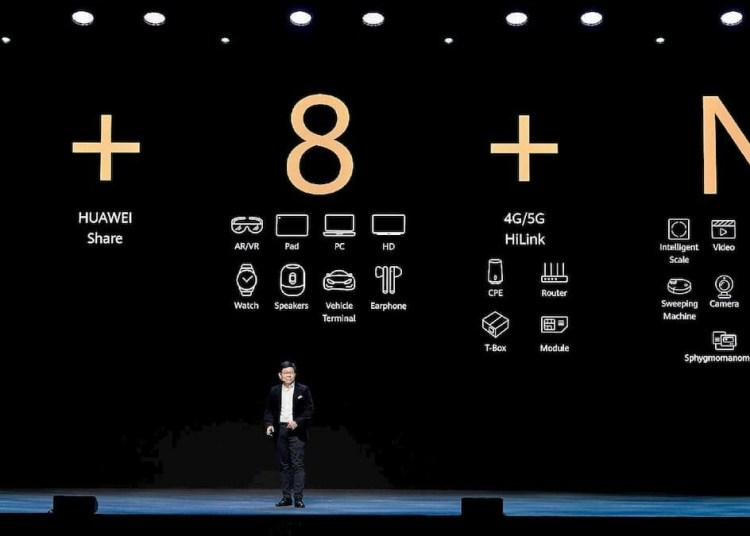 Huawei 1 + 8 + N strategy