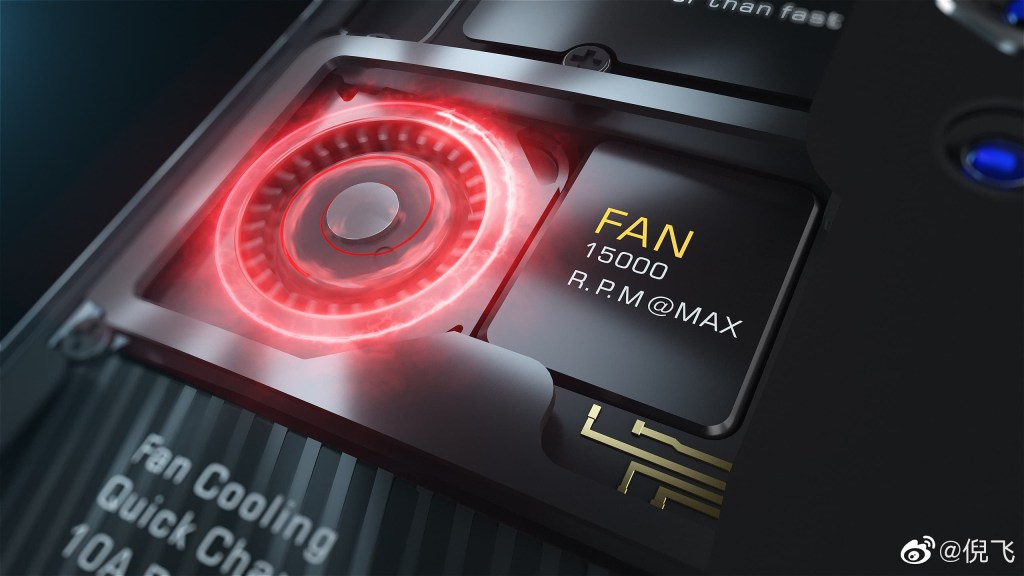 Red Magic 5G Cooling Technology; Fan + Liquid Cooling System
