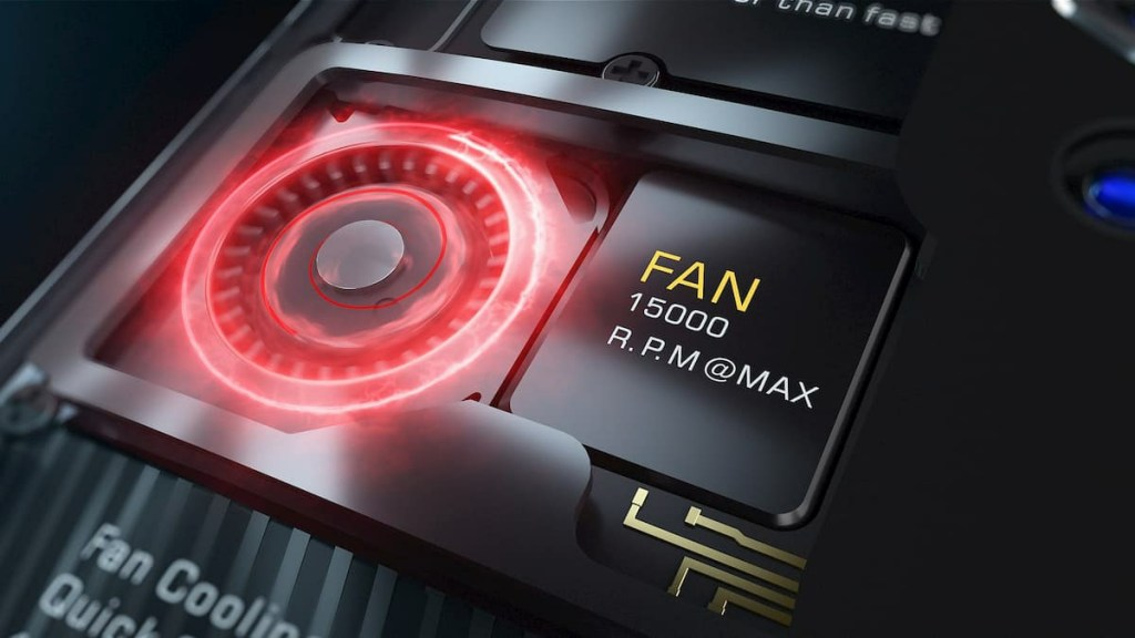 Red Magic 5G Cooling Technology; Fan + Liquid Cooling System 1