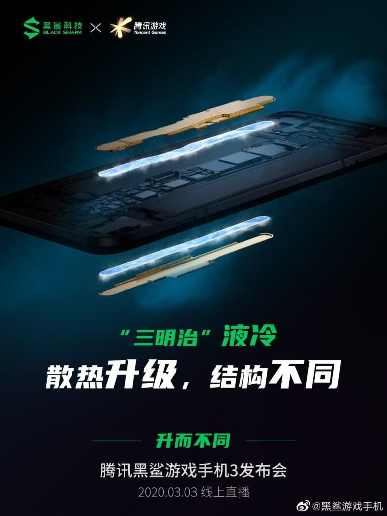Black Shark 3 Cooling Technology, Black Shark 3 Cooling system