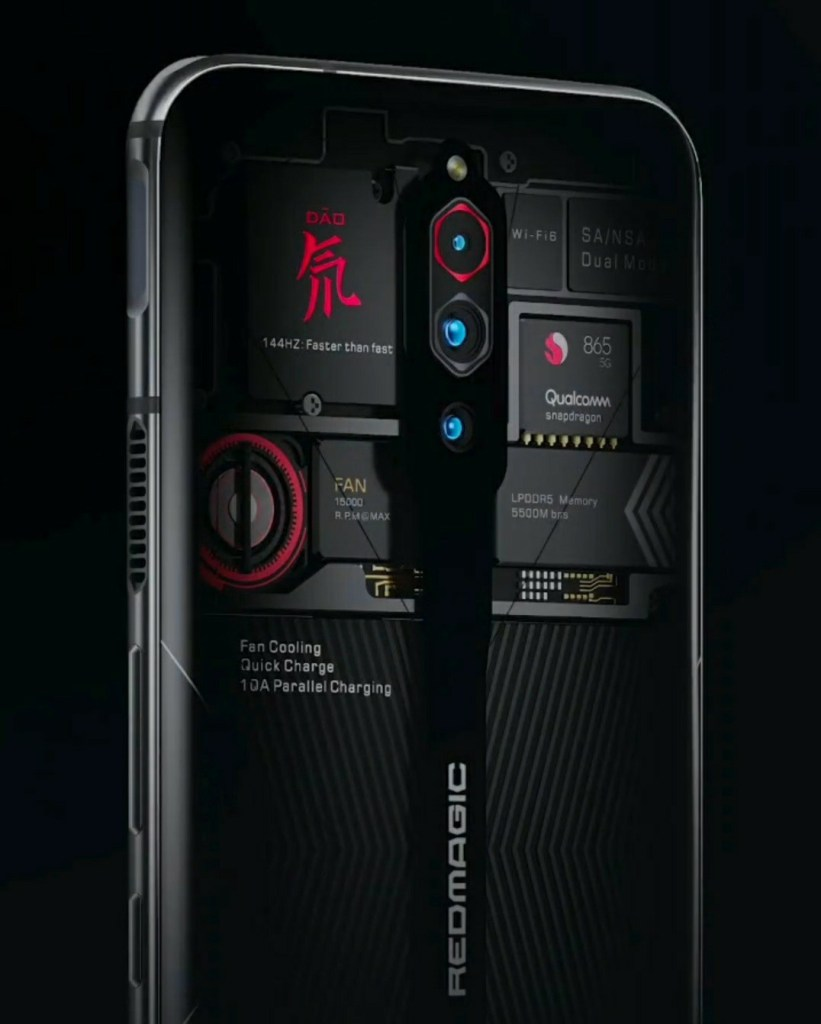 Red Magic 5G Transparent Edition Official Teaser