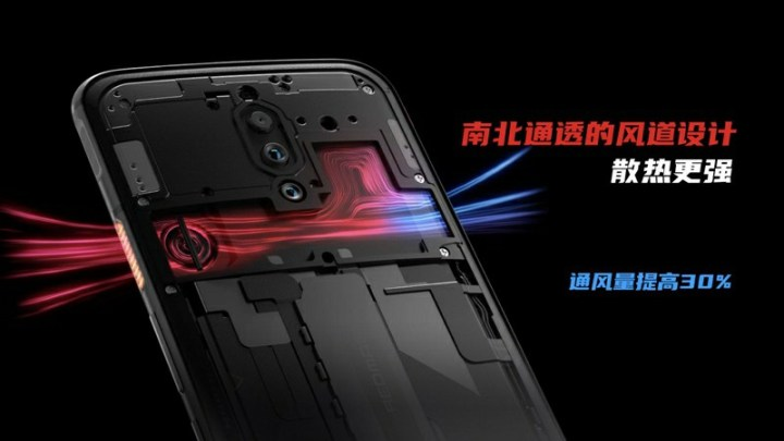 Red Magic 5G Cooling System