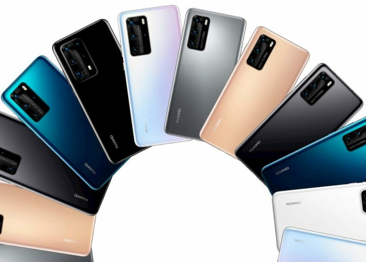 Huawei P40 Series all colors and varients