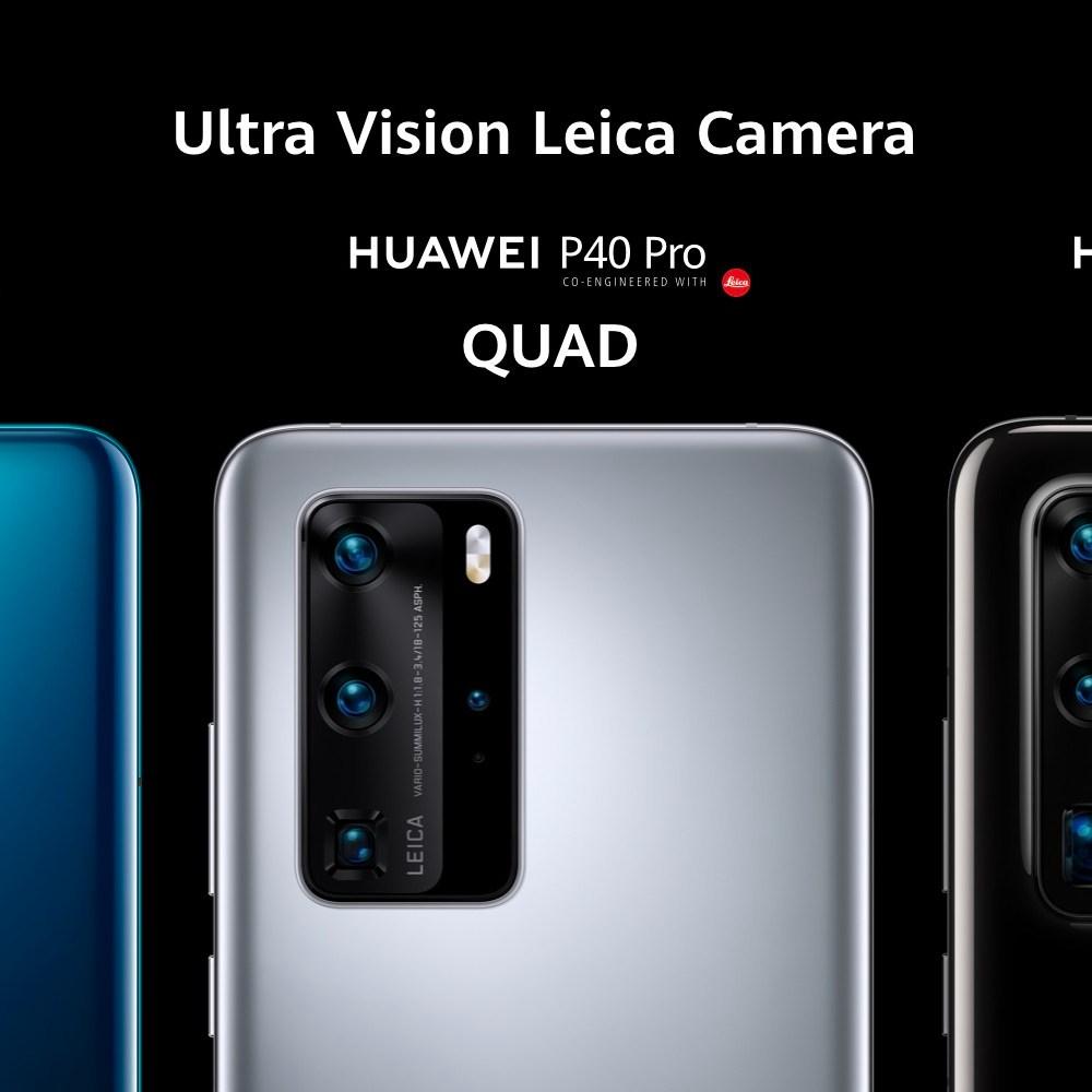 Huawei P40 vs P40 Pro vs P40 Pro +