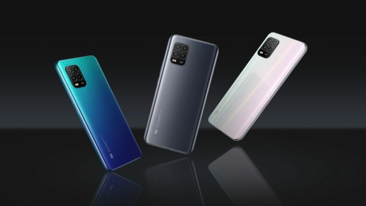 Mi 10 Lite Colour options