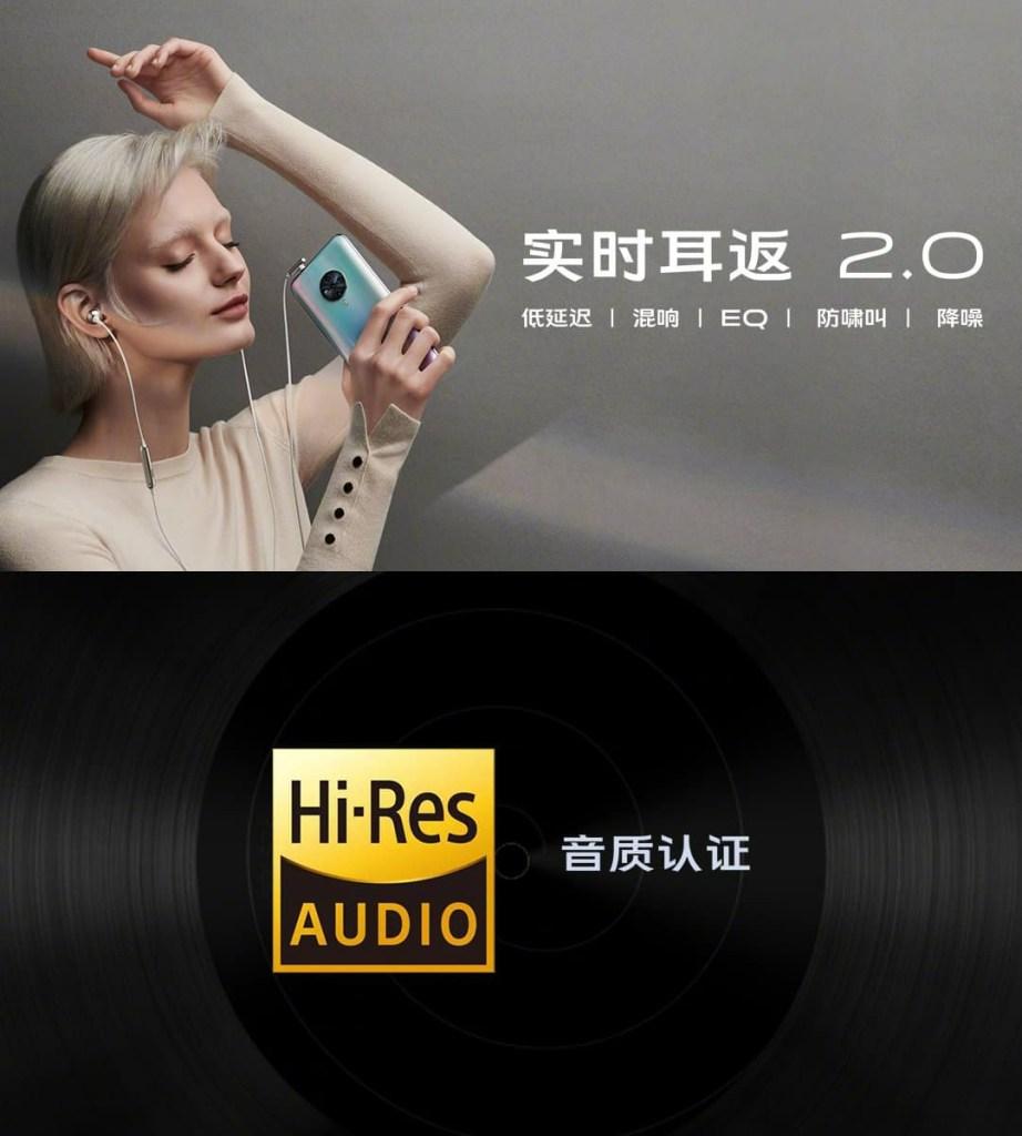 Hi-Res Audio & Real-time ear return 2.0