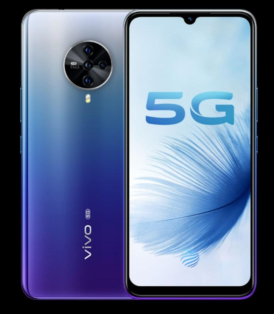 Vivo S6 Blue