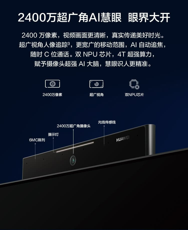 Huawei Smart Screen X65 Features