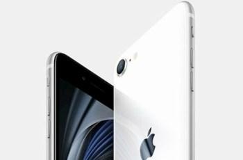 iPhone SE 2020 battery capacity