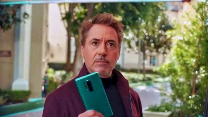 OnePlus 8 Series Robert Downey Jr. Promotional video screenshot
