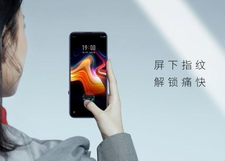 Nubia Play 5G Uses Under Screen Fingerprint Sensor