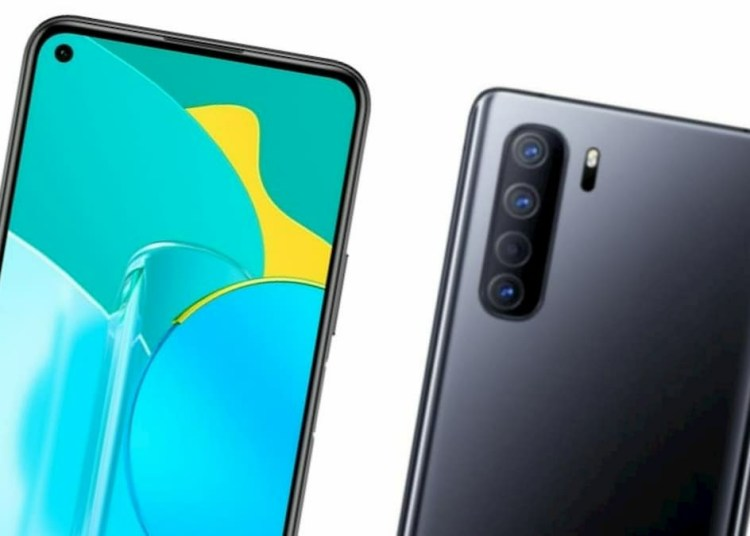 Huawei Nova 7 SE official rendering