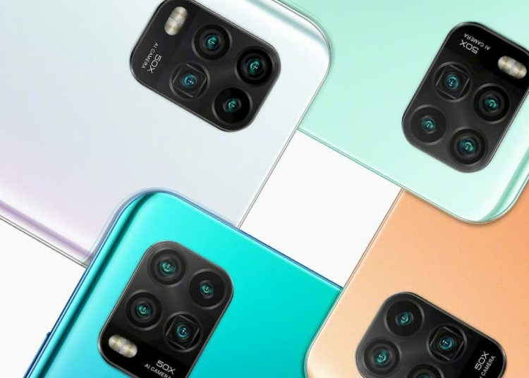 Xiaomi 10 Youth Edition official rendering
