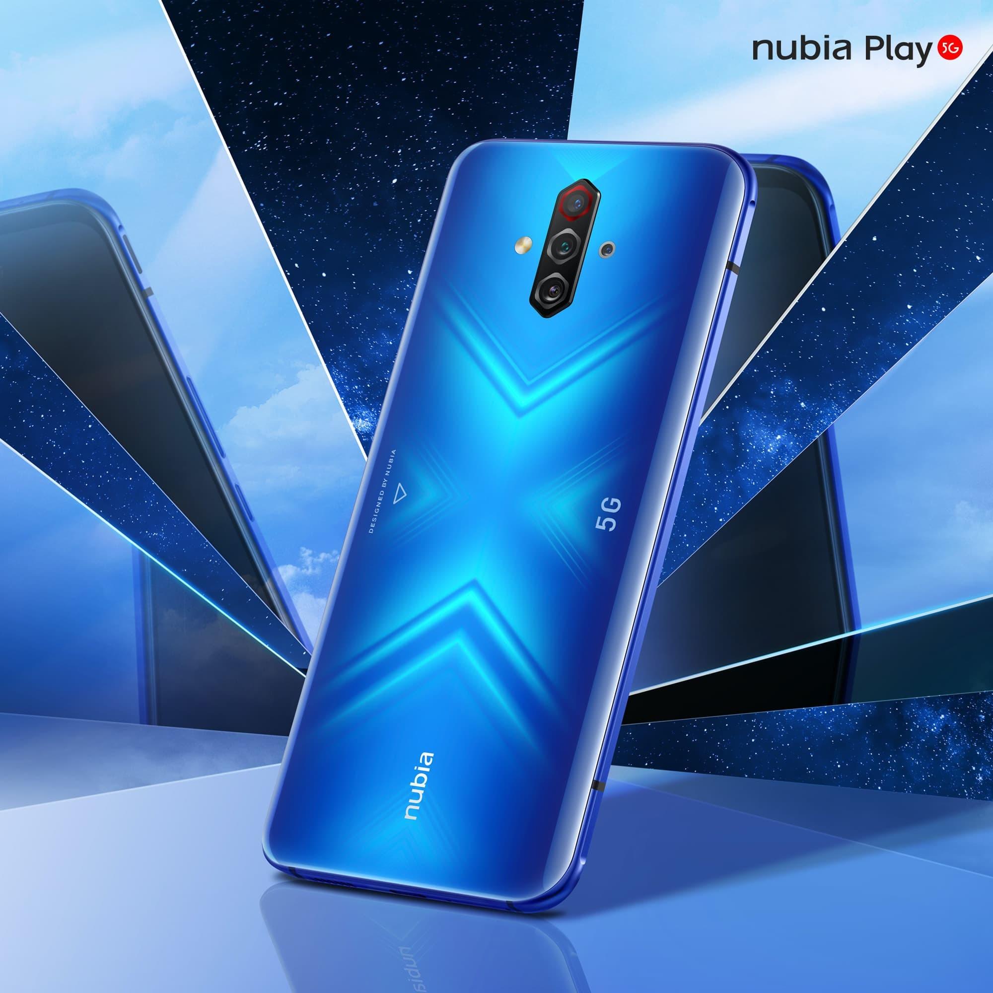 Nubia Play 5G Blue