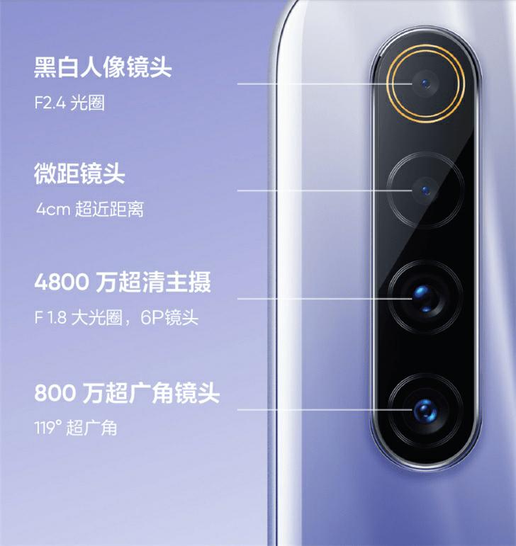 Realme X50m 5G Camera