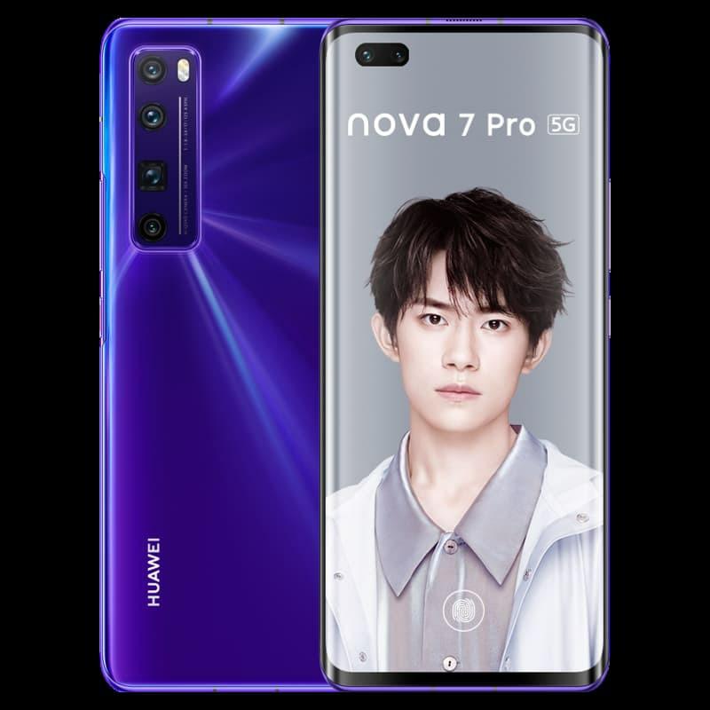 Huawei Nova 7 Pro Purple
