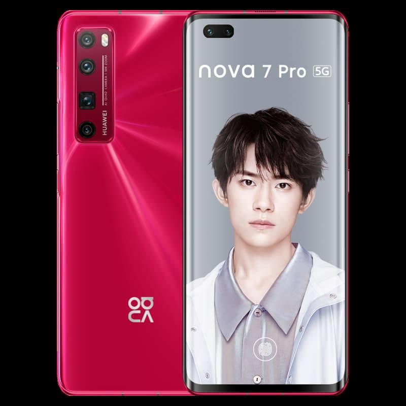 Huawei Nova 7 Pro Red