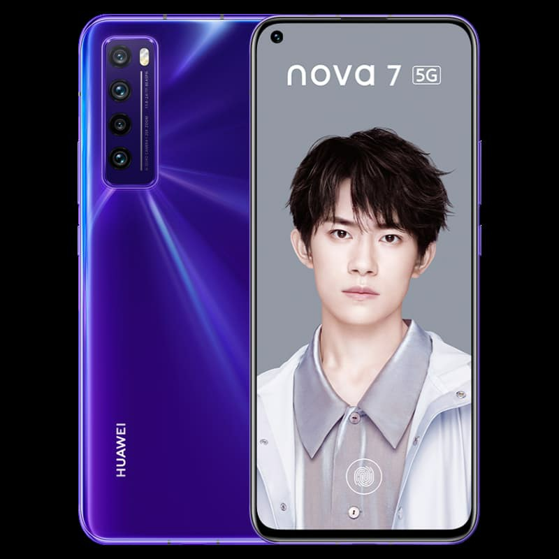 Huawei Nova 7 Blue