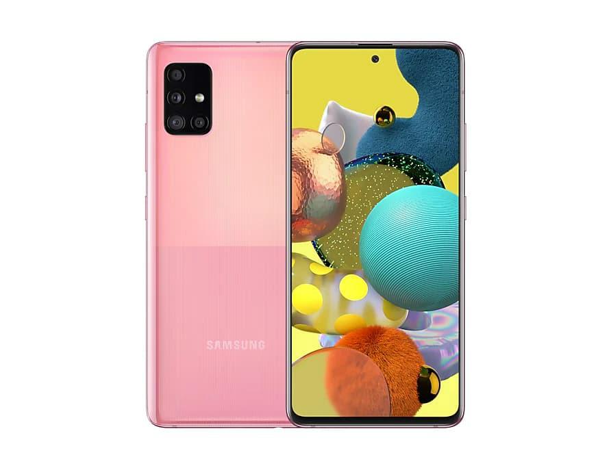 Samsung Galaxy A51 5G Prism Cube Pink