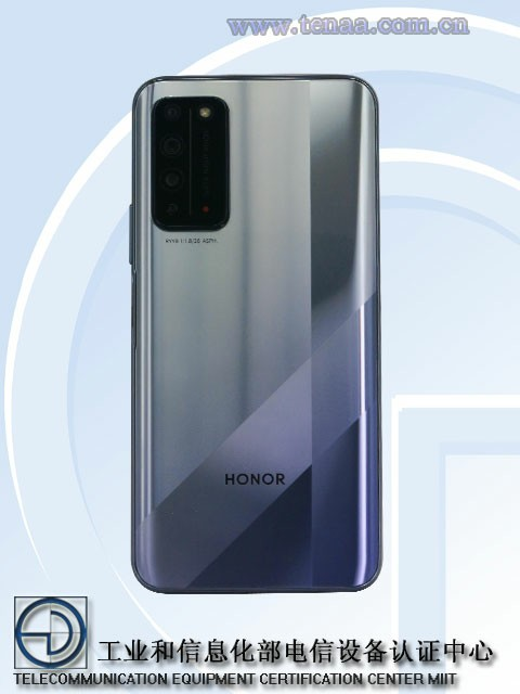 Honor X10 Camera Sony IMX600y
