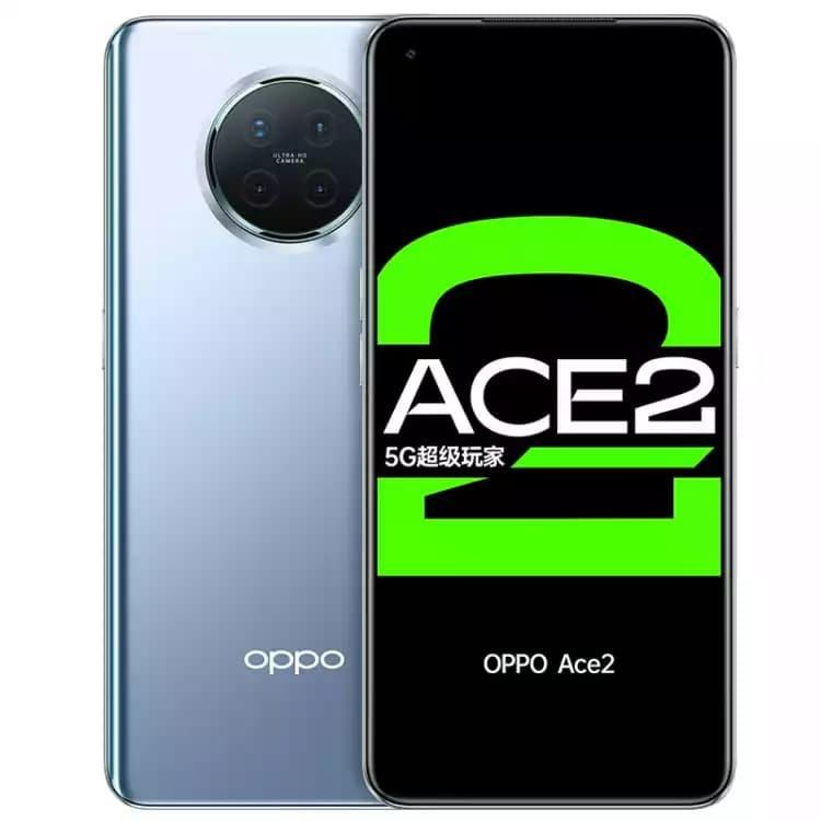 OPPO Ace2 Aurora Silver