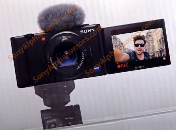 Sony ZV1 Live Photos, Sony ZV1 release date