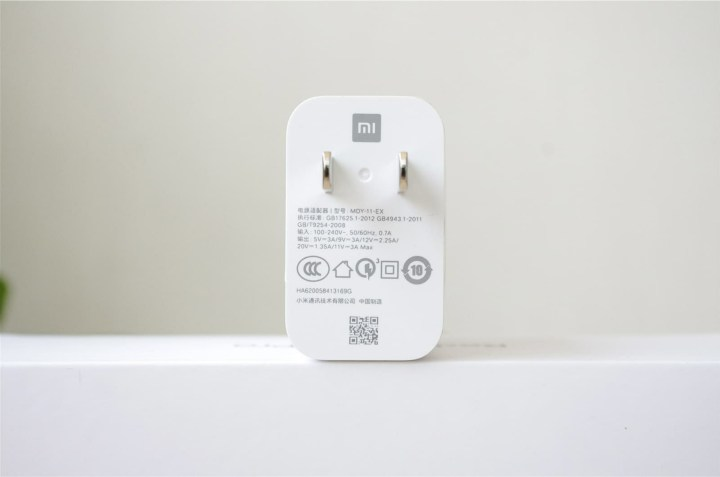 Random standard charger that supports up to 11V / 3A