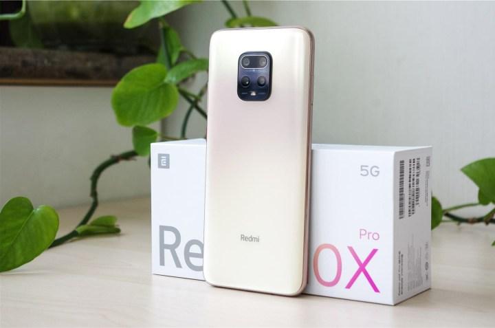 Phone back, redmi 10x Pro Review