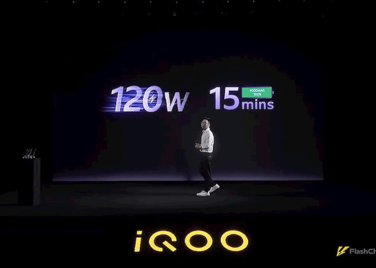iQOO 120W ultra-flash charging