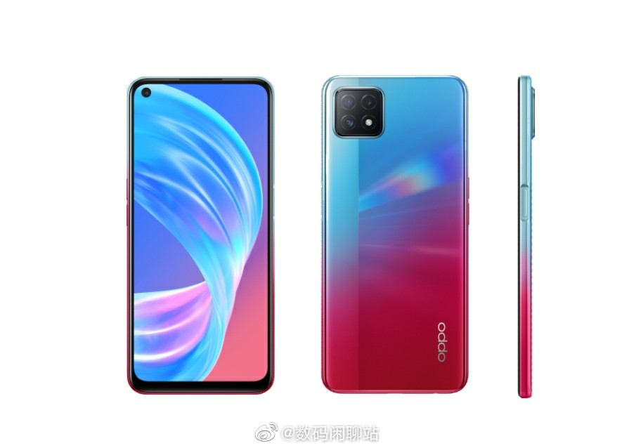 Oppo A72 rendering