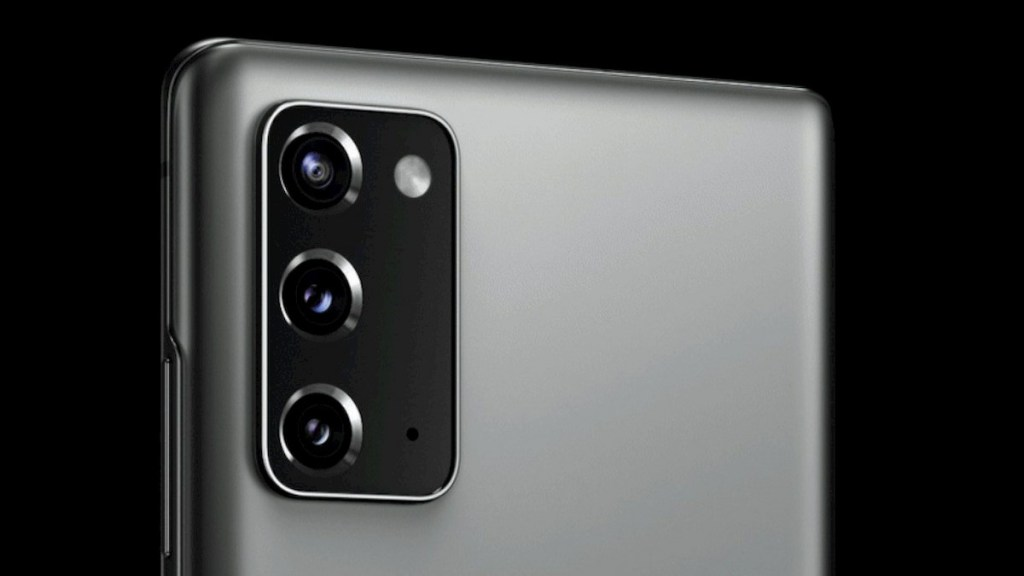 Samsung Galaxy Note 20 360-degree Rendering