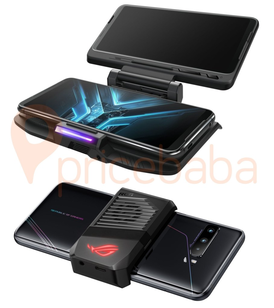 Asus Rog Phone 3 TwinView Dock and AeroActive Cooler