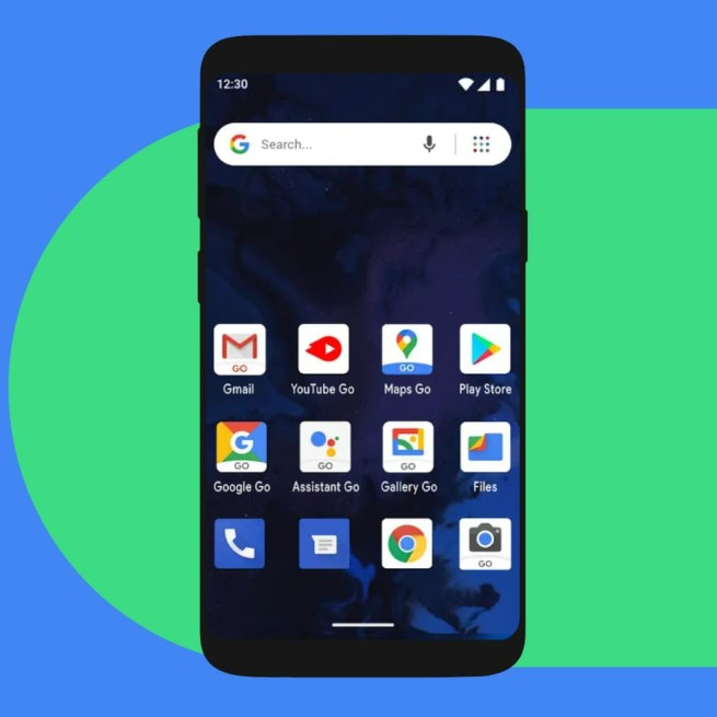 Must have Android Go Version if RAM below