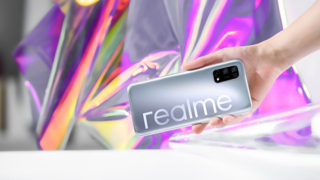 Realme V5 first look