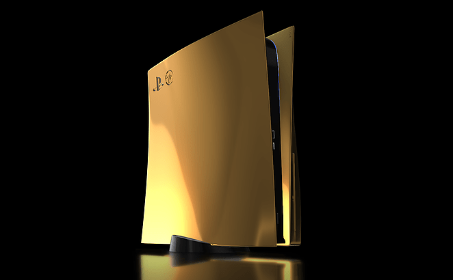 Sony PlayStation 5 Gold Edition, Sony PS5 Gold Edition