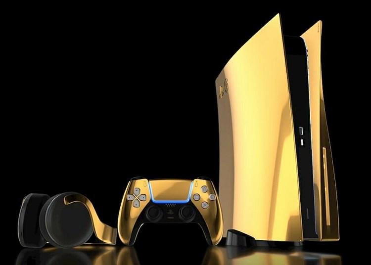 Sony PlayStation 5 Gold Edition