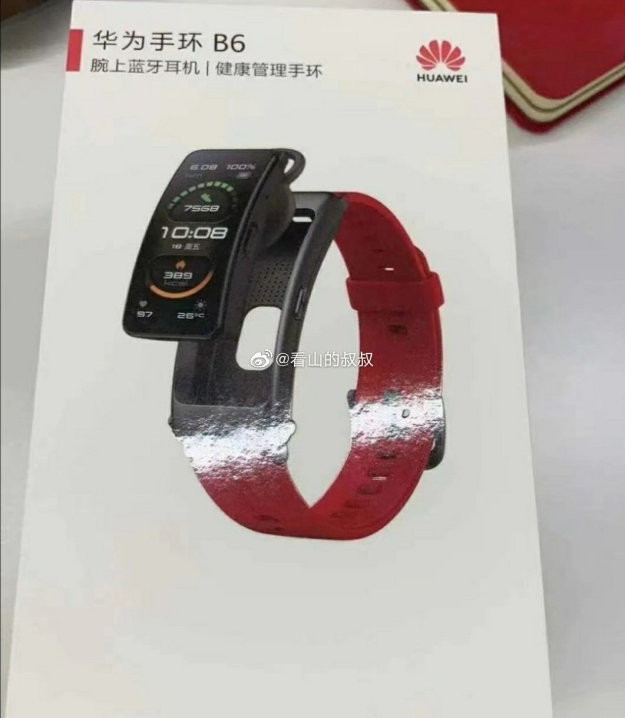 Huawei Band b6 Specifications