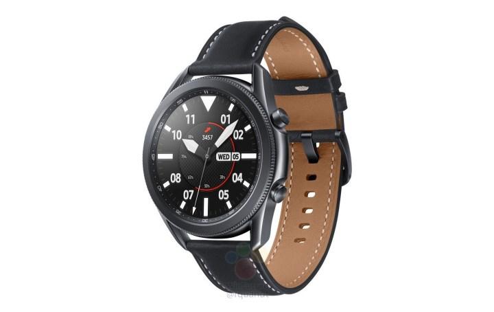 Samsung Galaxy Watch 3 45mm Titanium Black