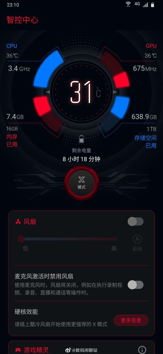 Asus Rog Phone 3 3.4Ghz Clock Speed