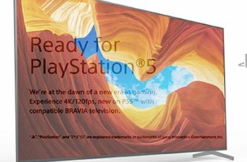 Ready for PlayStation 5 Sony Bravia TV Lineup