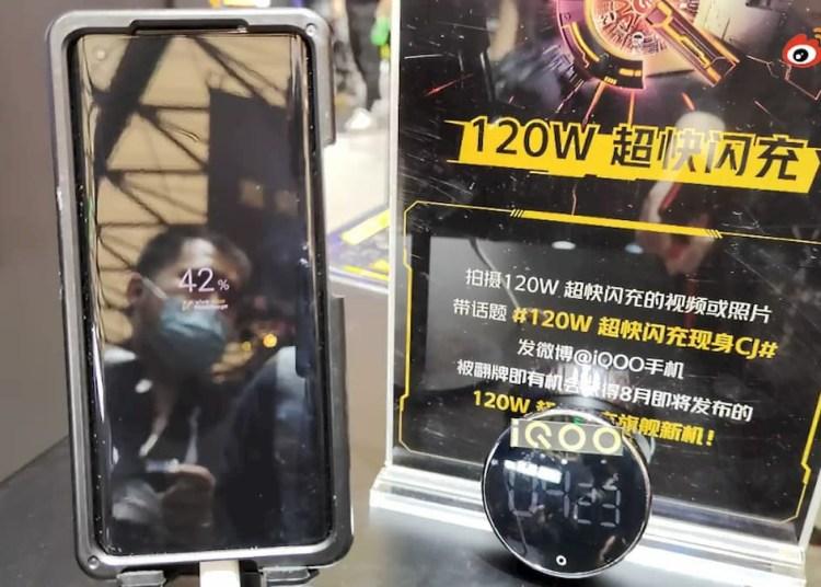 iQOO 120W Prototype Phone