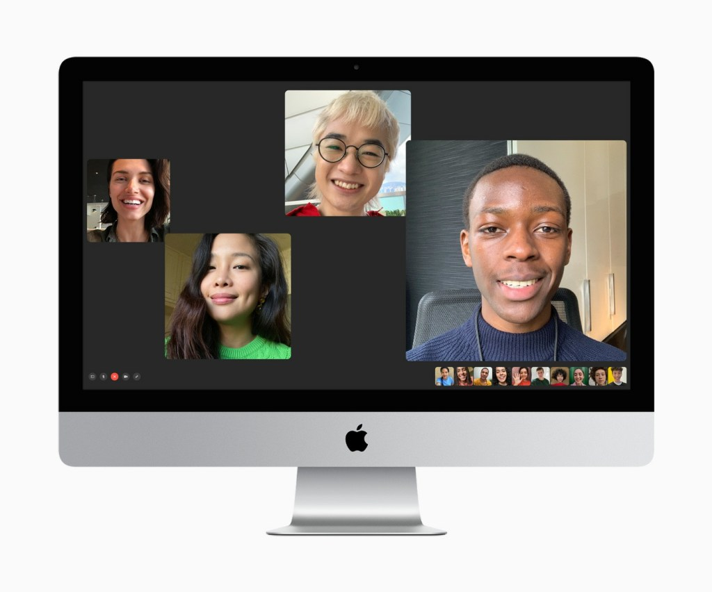 The 27-inch iMac now features a 1080p FaceTime HD camera for even better quality calls with friends, family, and colleagues.