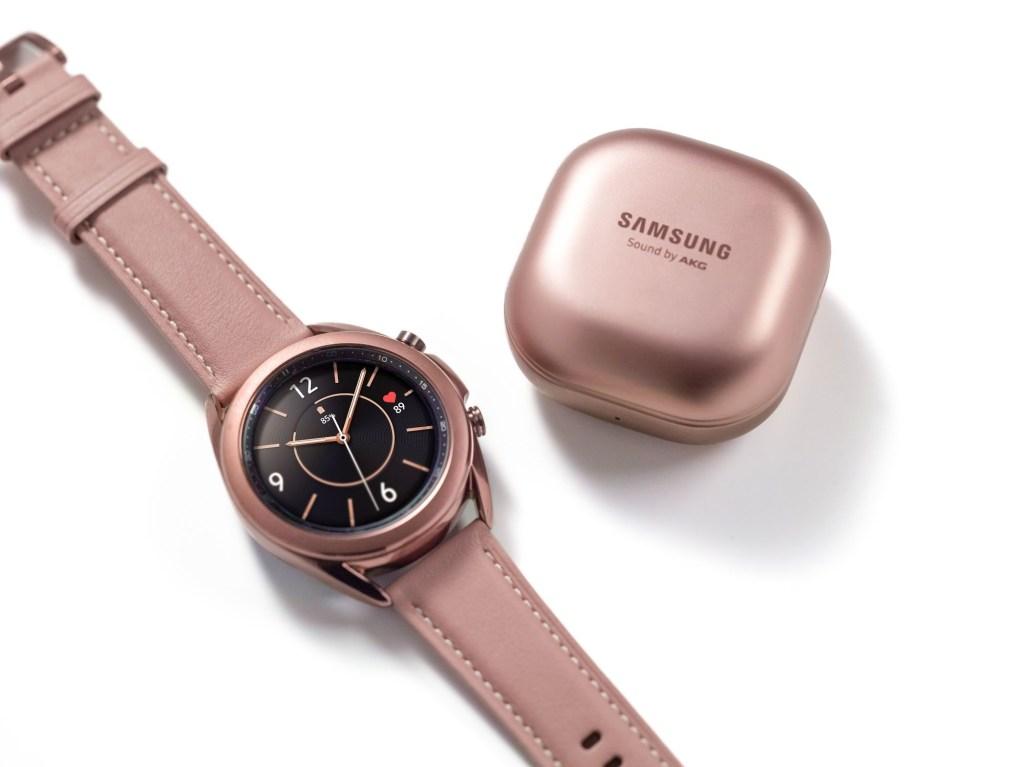 Galaxy Watch 3 and Buds Live