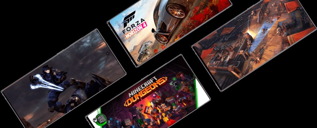 XBOX Games on Note 20