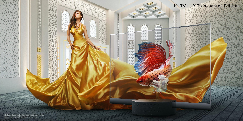 Xiaomi Mi Transparent OLED, MI TV LUX Transparent Edition