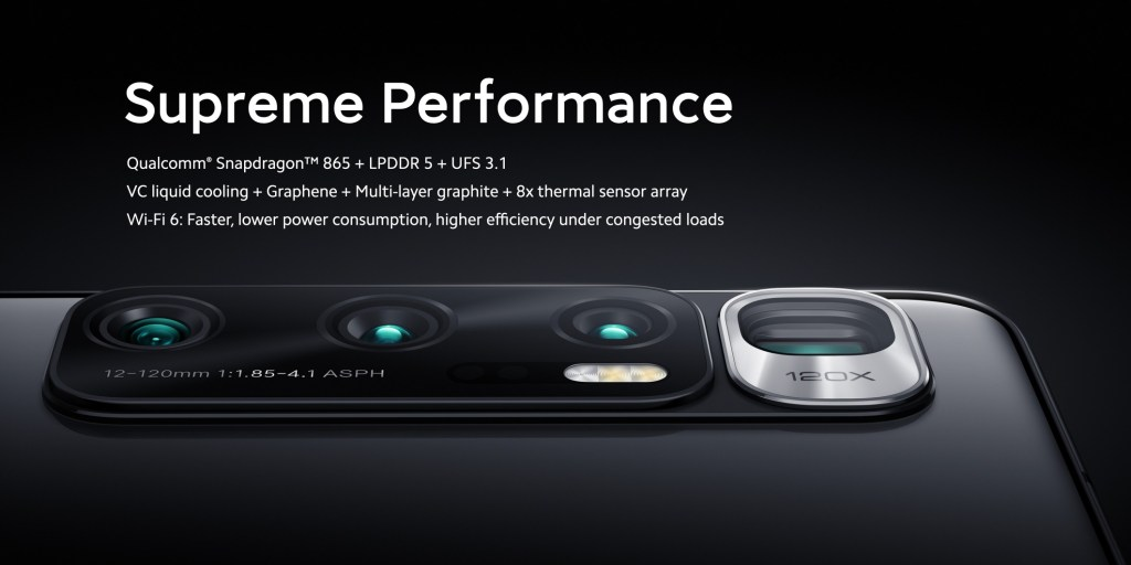 Xiaomi Mi 10 Ultra Camera Specifications