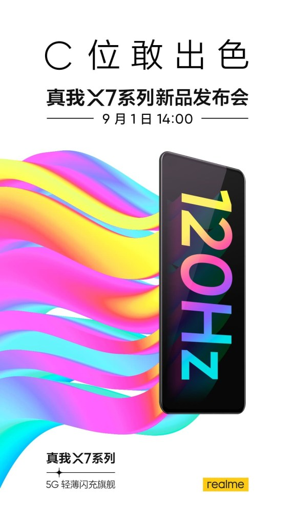 Realme X7 Series Release Date