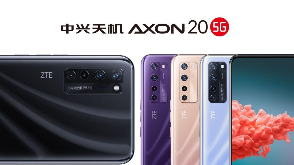 ZTE Axon A20 5G Color Options