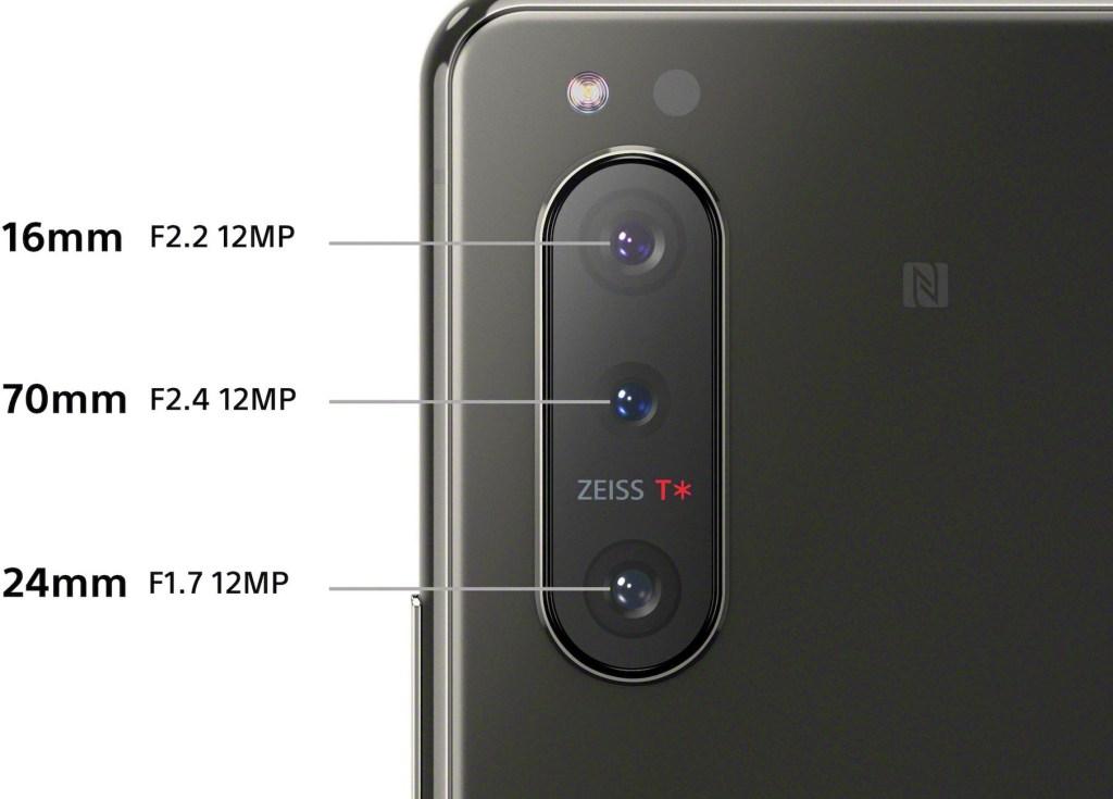 Sony Xperia 5 Mark 2 camera Specifications