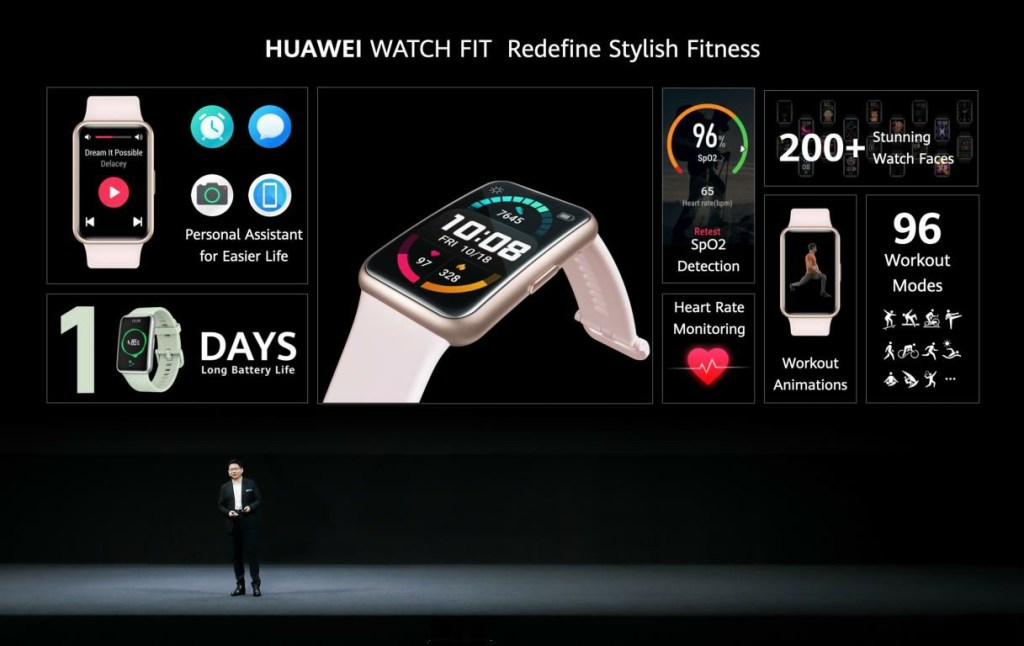 Huawei Watch Fit features